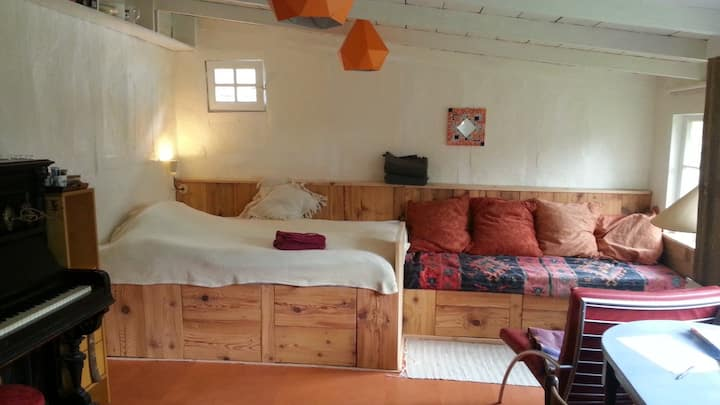 Cosy Amstel guestroom +garden, free parking/bikes