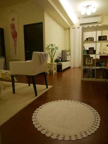Taichung Central Park- HighRise, Wifi, nite-market - Central District - Apartment