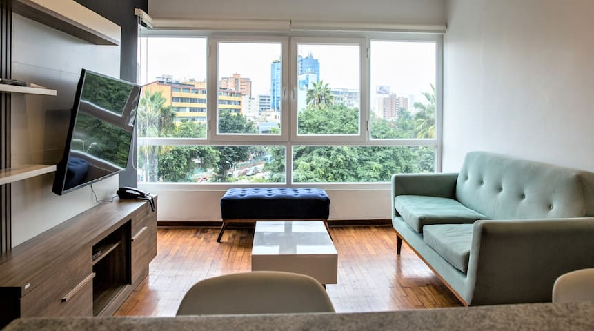 Lovely Park View Apartment in Miraflores