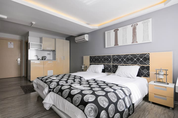 Harbiye residence economy suite apartments for rent in for Guest house harbiye