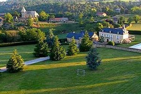 3 bedroom luxury villa with pool, near Sarlat - Saint-Crépin-et-Carlucet - Hus
