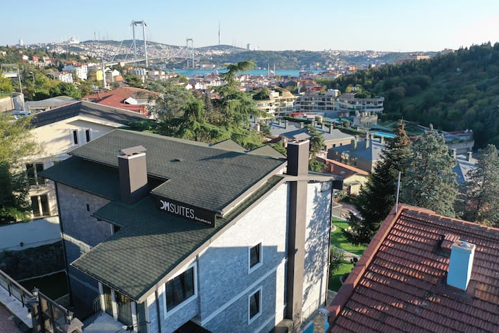 Penthouse - Balcony With Bosphorus View