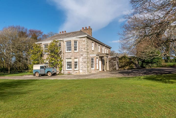 Secluded Manor House 10 miles from the coast with Pool and Tennis Court
