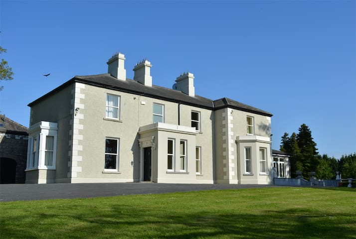 Greenfield House near Dublin city