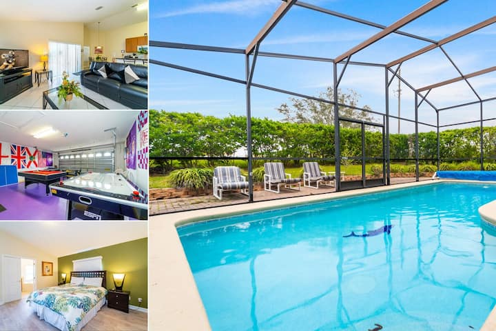 Beautiful Pool Home with Games Room & Huge Sun Deck (304OBC)