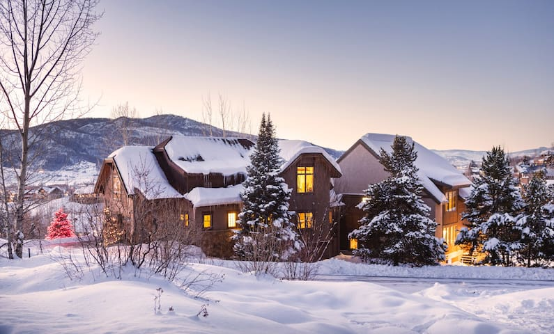Steamboat Val D' Isere Vista Luxury Mountain Home - Steamboat Springs - Hus