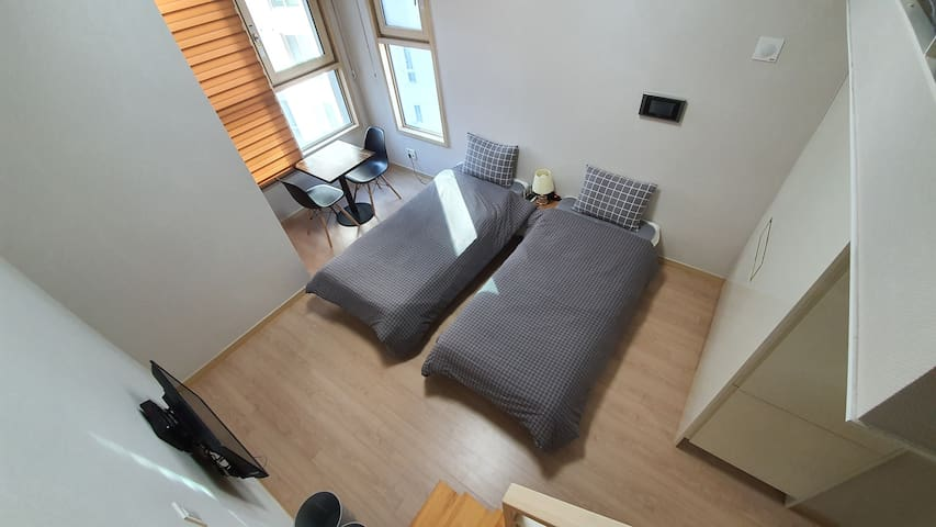 [Prime House] Cozy duplex house in the city center