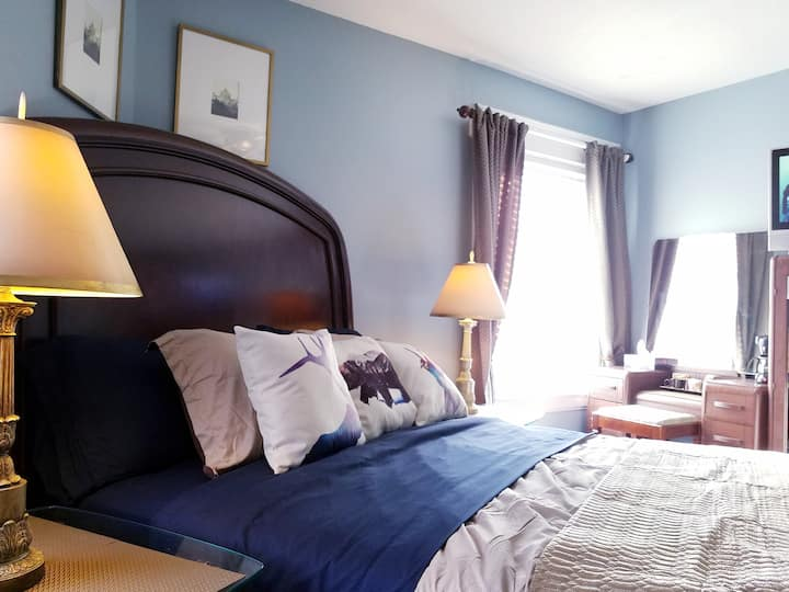Budget Luxury Queen Sized Room in Heritage Home