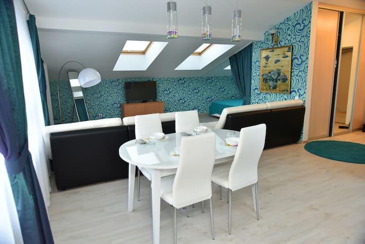 Апартаменты в СПА королевского уровня Family Lab - Tver' - Leilighet