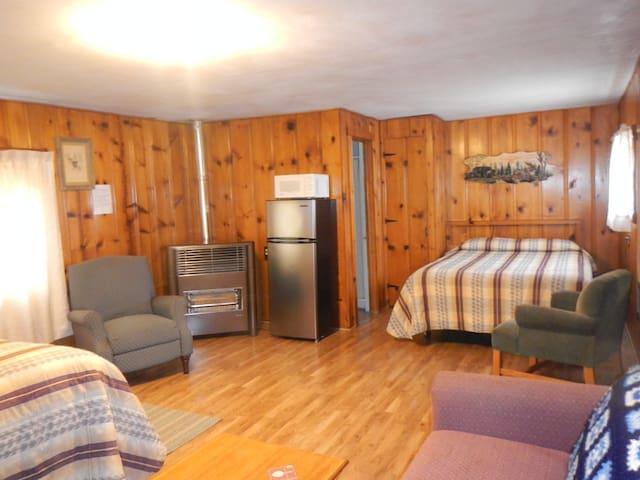Cabin #3 on The Little Cimarron River