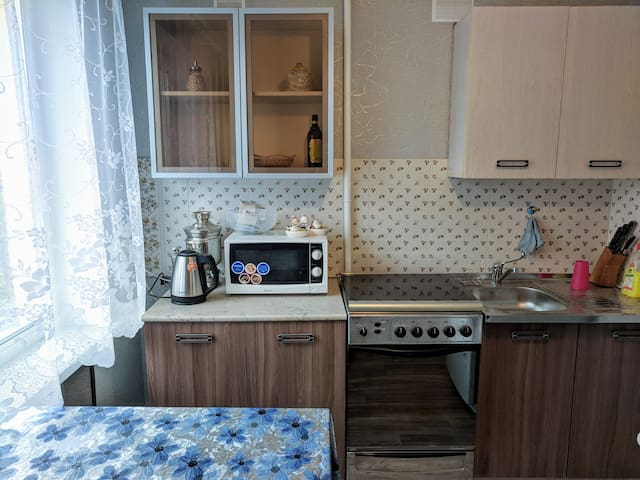 Two-room apartment in the city center