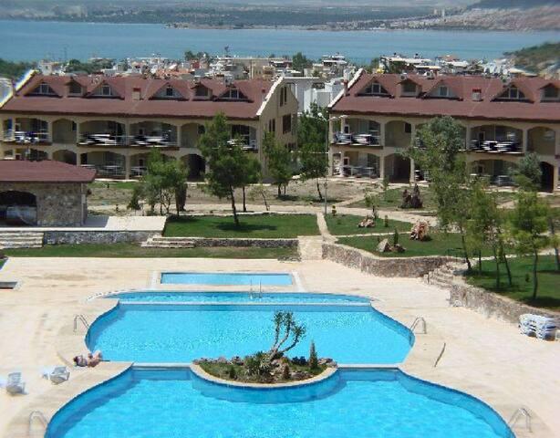 DİDİM AKBÜKTE HAVUZLU 2+1 GÜNLÜK KİRALIK DAİRELER - Didim - Apartment
