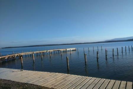 Charmant Duplex terrasse vue étangs - Peyriac-de-Mer