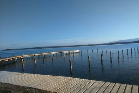 Charmant Duplex terrasse vue étangs - Peyriac-de-Mer - Hus