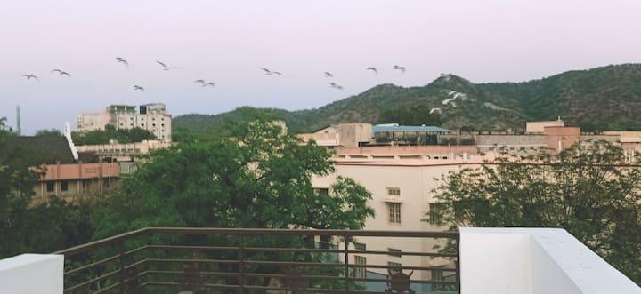 Aravalli View (360°) Para Villa.