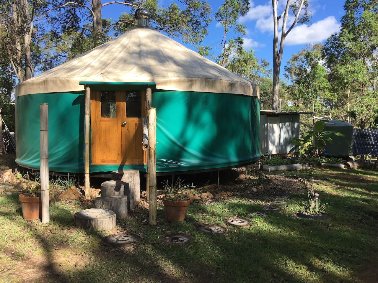 Mothar Yurt - Mothar Mountain Queensland