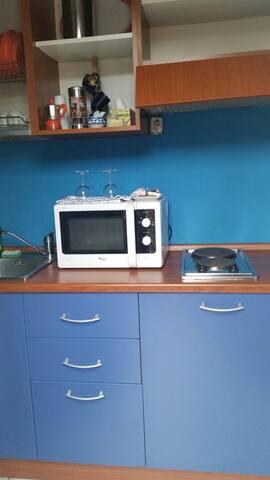 La cucina del monolocale