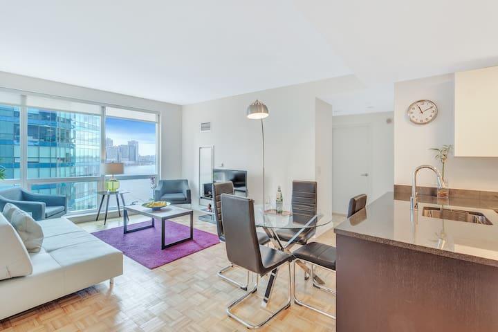 Dharma | Jersey City | Luxury 3BR + City Views