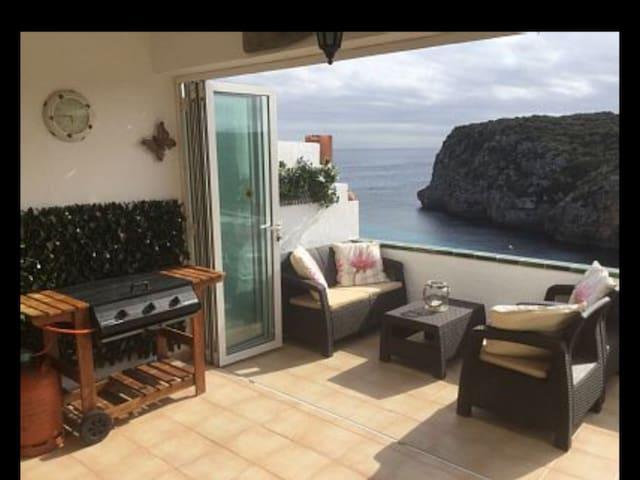 Stunning uninterrupted ocean view - Cala en Porter - Lägenhet
