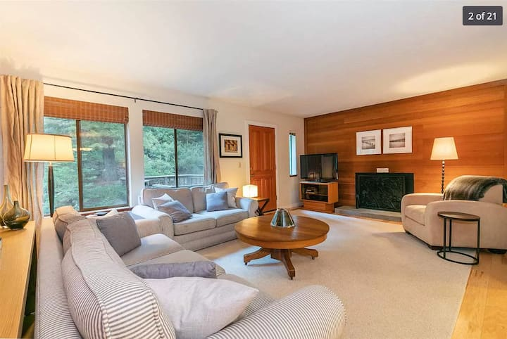 *NEW* Modern and Cozy Home-7 min walk to the Lake!