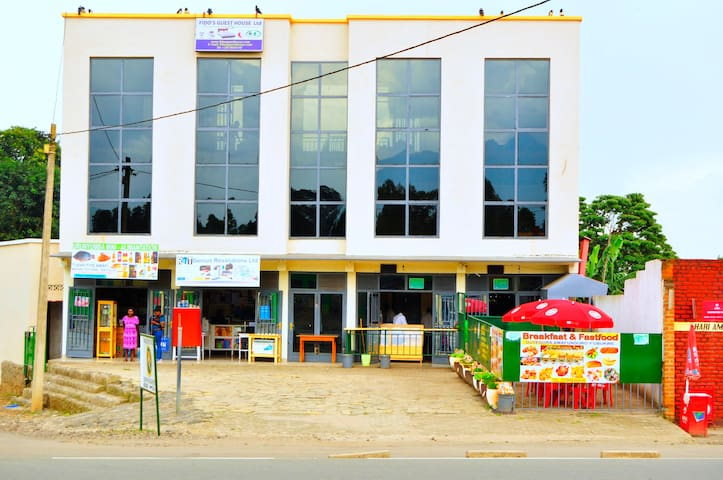 FIDOS GUEST HOUSE  RWANDA  / HOME AWAY FROM HOME