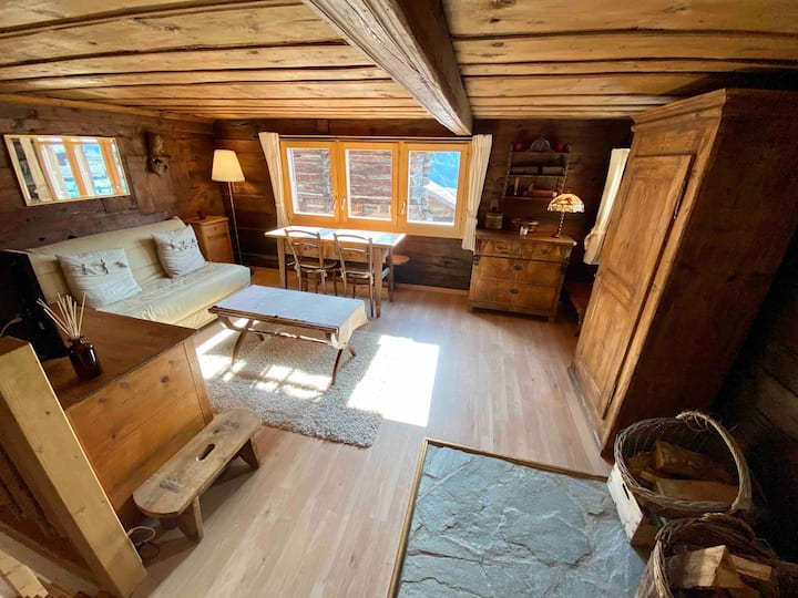 Cosy apartment in typical chalet