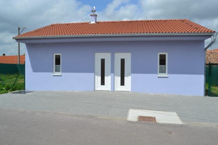 Modrý apartmán 1