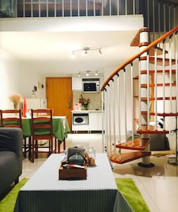 Promotion! #Good Day# Loft in CBD/7 MINS to Metro - Canton - Appartement en résidence