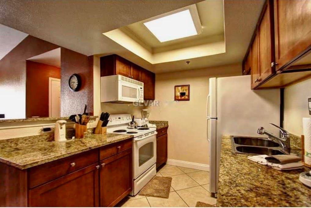 fully equipped kitchen for gourmet cooking
