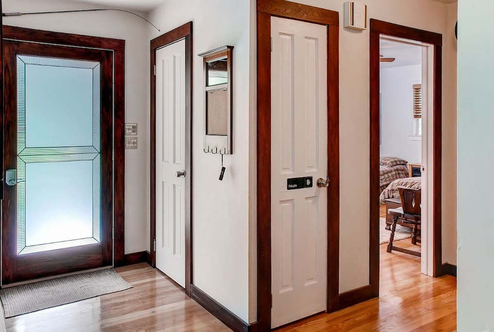 Step inside to explore your new home-away-from-home.