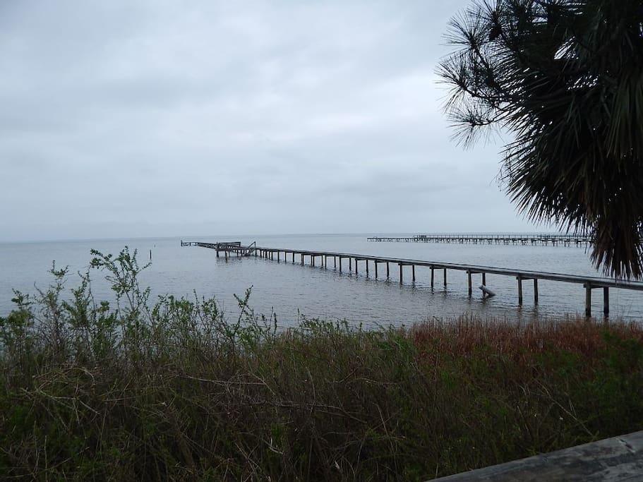 Pier on St. Josephs Bay