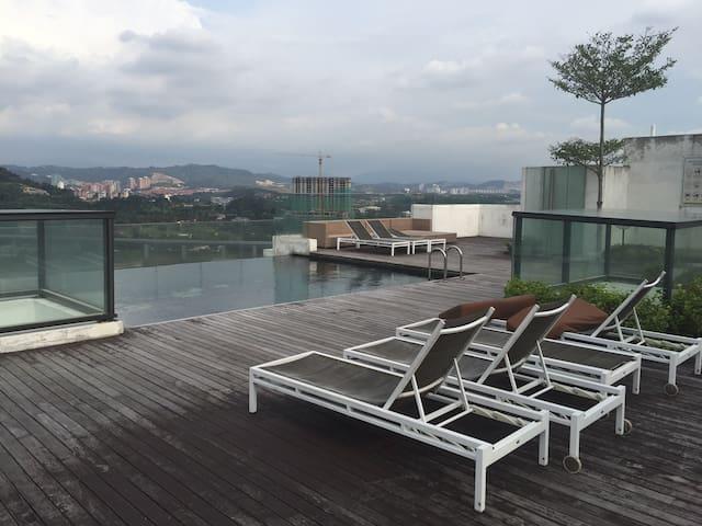 Livia Residence @ C180, Cheras Selatan (可以长租或短租) - Cheras selatan  - Mobilyalı daire