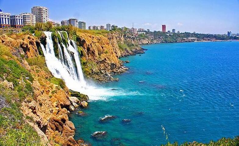 Великолепная 2к квартира на берегу - Antalya  - Apartment