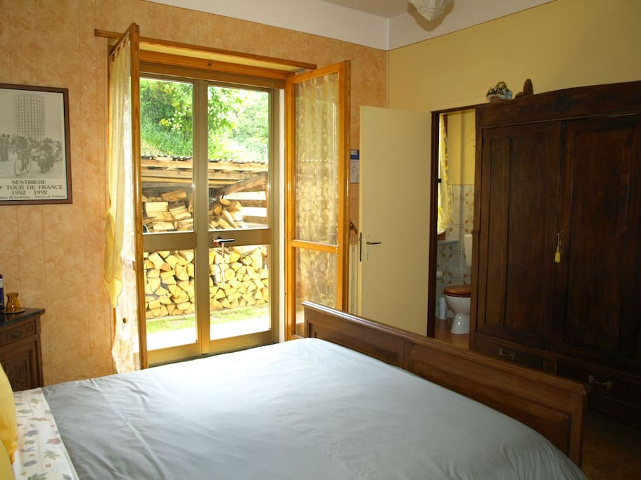Our quiet and roomy ensuite room is a perfect place to make your starting point for discovering our area