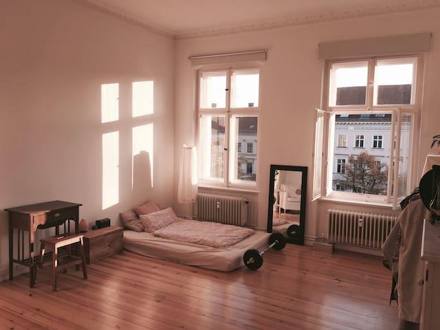 Beautiful bright room in the heart of Kreuzberg