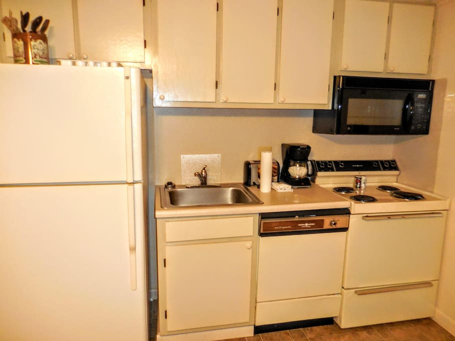 Fully-equipped kitchen means you can cook your own meals - and SAVE money!