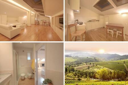 Loft on (Florence) Chianti  Hills