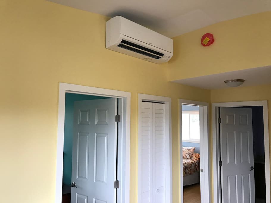 Ice cold A/C in every room