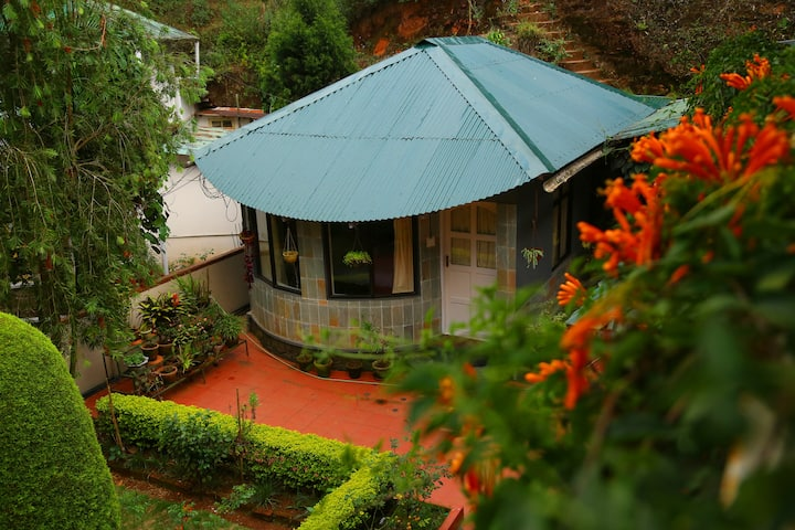A Cottage Room  Near Tea gardens at Munnar