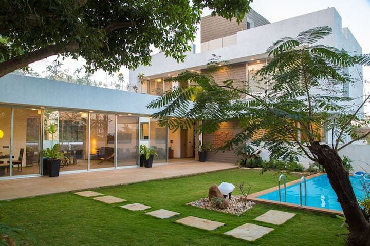 ⭐EL House⭐Contemporary 4BHK With Private Pool
