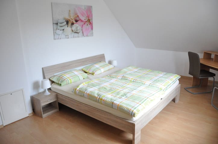 Beautiful bright apartment in Hettenshausen - Hettenshausen - Apartamento