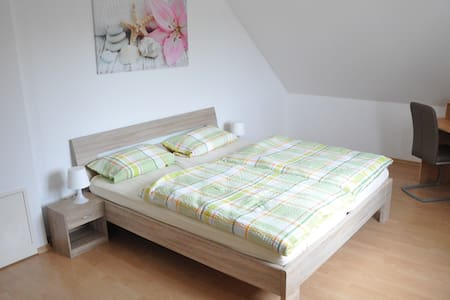 Beautiful bright apartment in Hettenshausen - Hettenshausen - Pis