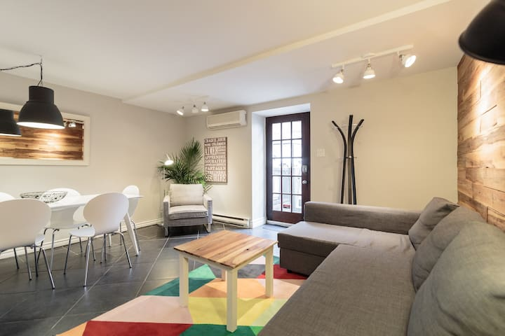 Vast Downtown 6BR/14Beds/2Bth AC 2 parking Terrace