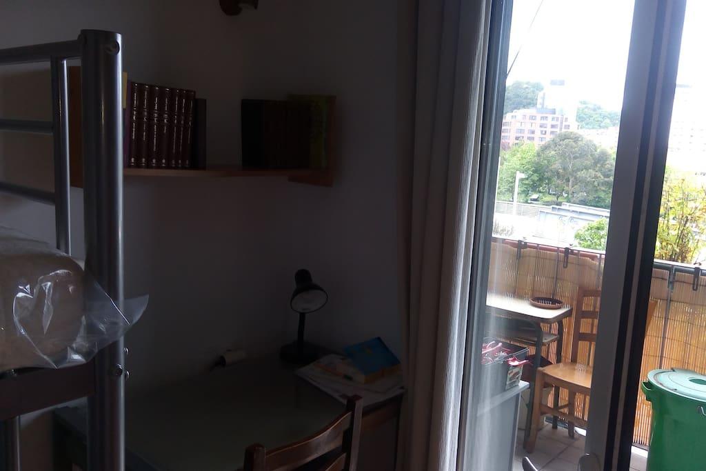 mesa del estudio