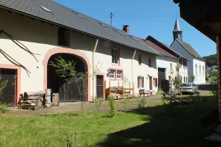 Freshly renovated, historic farmhouse in Balesfeld with large garden