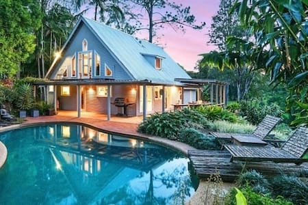 Private poolside paradise Bangalow - Eureka - Hus