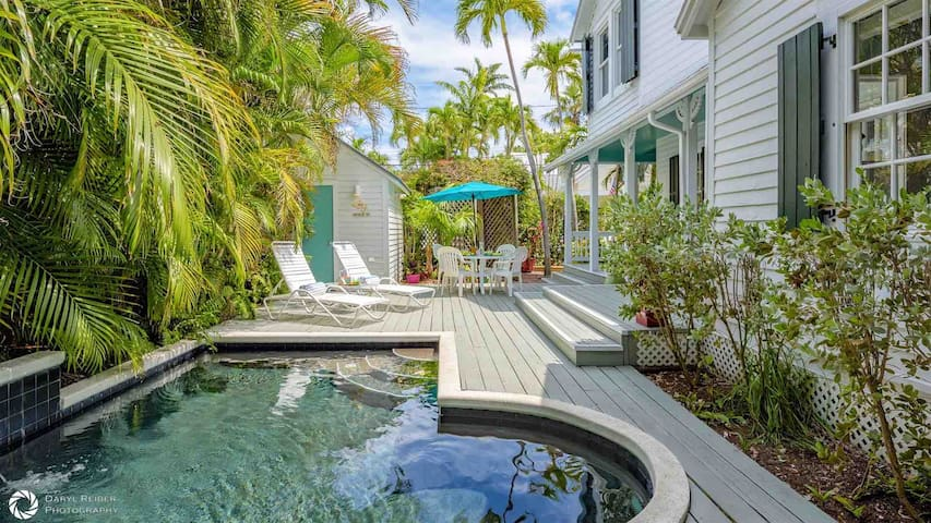 **CASA SERENDIPITY @ OLD TOWN** Historic 3BR/2BA Home & Pool + LAST KEY SERVICES...