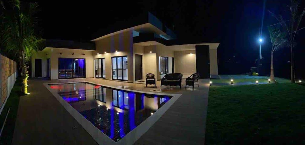 Casa de campo com ar de praia