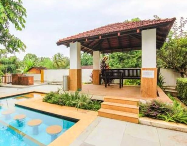 LUXURY VILLA PEARL FOREST  anjuna beach
