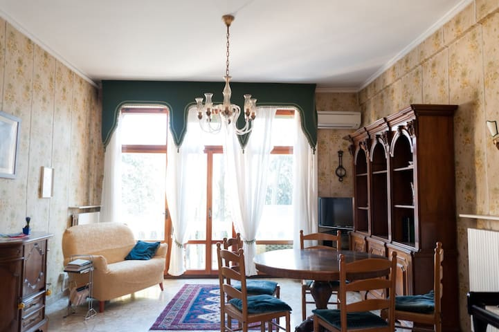 Spacious room with park view - Venise - Maison